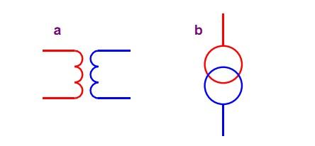 Схема подключения трехфазного индукционного счетчика